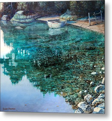 Adventure  Karaka Bay Great Barrier Island Metal Print
