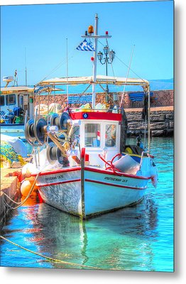 Aegean Light Metal Print