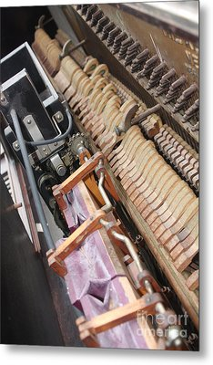 Aeolian Player Piano-3487 Metal Print by Gary Gingrich Galleries