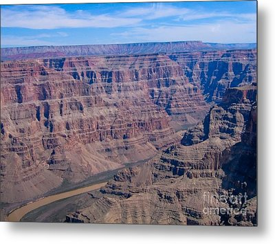 aerial Grand Canyon Metal Print by Sophie Vigneault