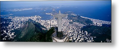 Aerial, Rio De Janeiro, Brazil Metal Print