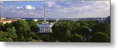 Aerial, White House, Washington Dc Metal Print by Panoramic Images