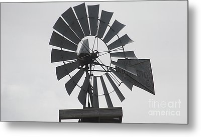 Aermotor Metal Print by Guy  Cannon