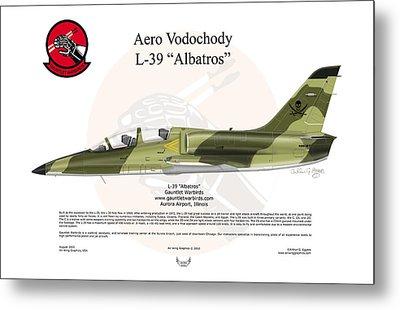 Aero Vodochody Albatros Metal Print