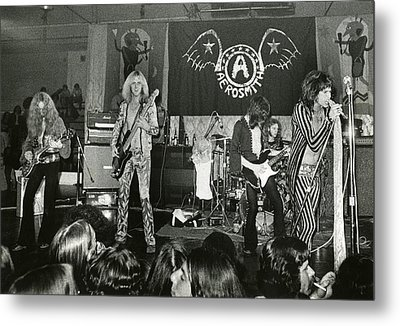 Aerosmith - Aerosmith Tour 1973 Metal Print by Epic Rights