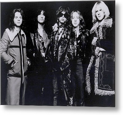 Aerosmith - America's Greatest Rock N Roll Band Metal Print by Epic Rights