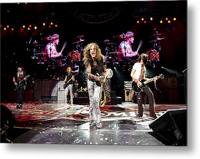 Aerosmith - Austin Texas 2012 Metal Print by Epic Rights