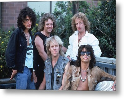 Aerosmith - Bad Boys From Boston 1970s Metal Print by Epic Rights