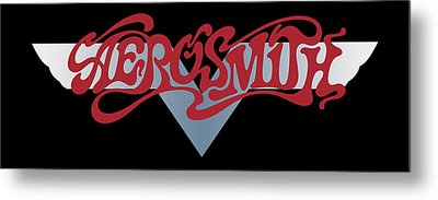 Aerosmith - Dream On Banner 1973 Metal Print by Epic Rights