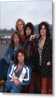 Aerosmith - Terre Haute 1977 Metal Print by Epic Rights