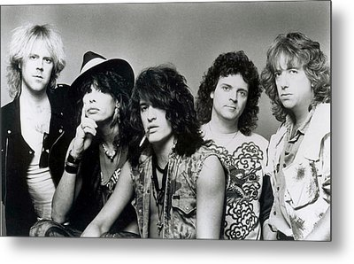 Aerosmith - What It Takes 1980s Metal Print by Epic Rights
