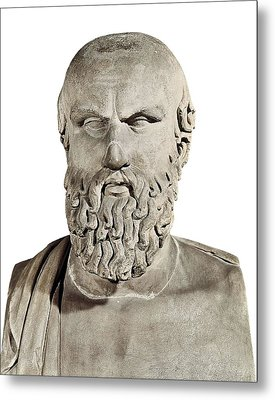 Aeschylus 525-455 Bc. Greek Art Metal Print