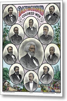 African Americans, C1883 Metal Print by Granger