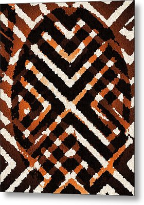 African Peace Metal Print by Jacqueline Mason