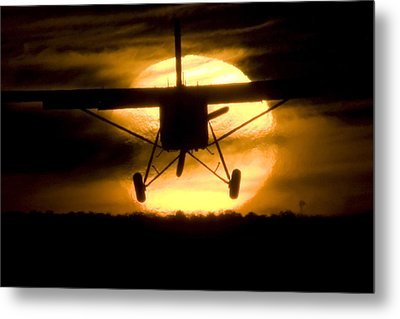 Metal Print featuring the photograph African Sunset by Paul Job