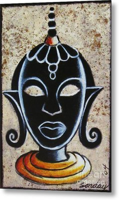 Africana Metal Print by Joseph Sonday
