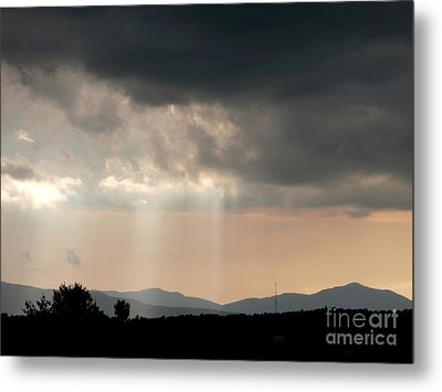 After A Rain Storm Metal Print by Steven Valkenberg