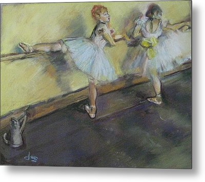 After Degas 2 Metal Print by Dorothy Siclare