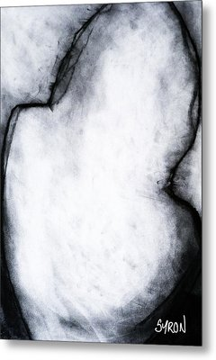 Metal Print featuring the drawing After Life Drawing 2 by Helen Syron