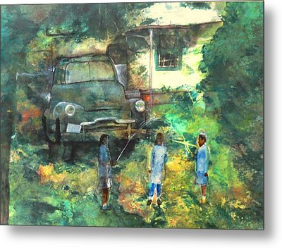 After School Metal Print by Ron Carson