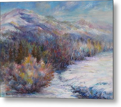 After The First Thaw Metal Print by Bonnie Goedecke