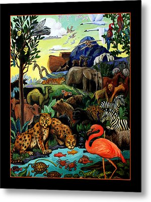 After The Flood Metal Print by Sandra Bryant
