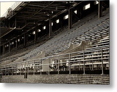 After The Game - Franklin Field Philadelphia Metal Print by Bill Cannon