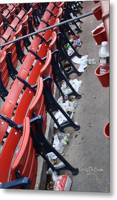 After The Game Metal Print by Greg DeBeck