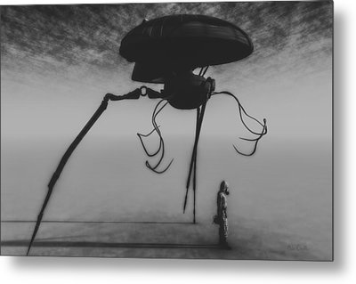 After The Invasion Metal Print by Bob Orsillo