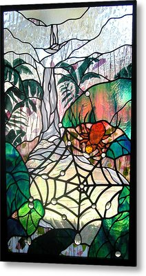 After The Rain Metal Print by Christine Alexander