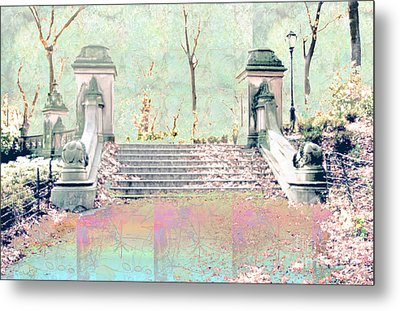 After The Rain In Central Park Metal Print