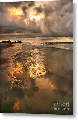 After The Rain Metal Print by Jeff Breiman