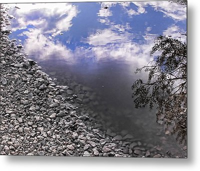 After The Rain Metal Print by Kristie  Bonnewell
