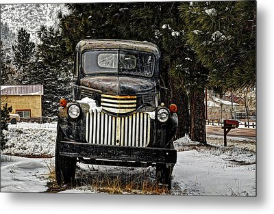 After The Snow Falls Metal Print by Ken Smith