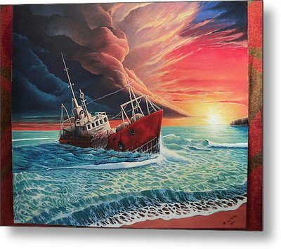 After The Storm Metal Print by Alejandro Del Valle