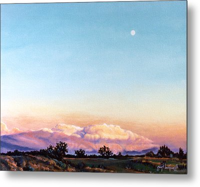 Metal Print featuring the painting After The Storm by Craig T Burgwardt