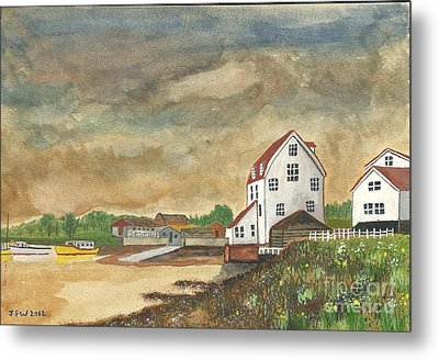 Metal Print featuring the painting After The Storm by John Williams