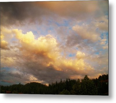 After The Storm -  Lake Arrowhead Metal Print by Glenn McCarthy Art and Photography