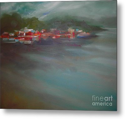 After The Storm Metal Print by Mary Hubley