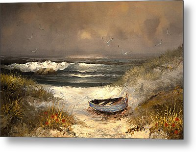 After The Storm Passed Metal Print