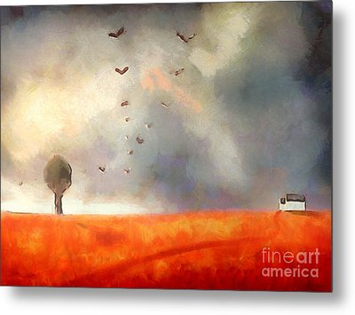 After The Storm Metal Print by Pixel Chimp