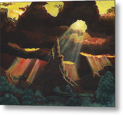 After The Storm Metal Print by Timithy L Gordon
