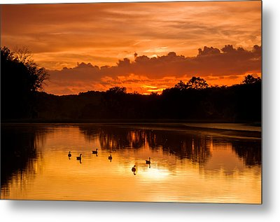 After The Storm..... Metal Print by Ulrich Burkhalter
