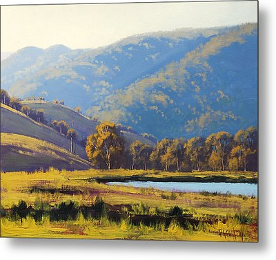 Afternnon Light Lithgow Metal Print by Graham Gercken