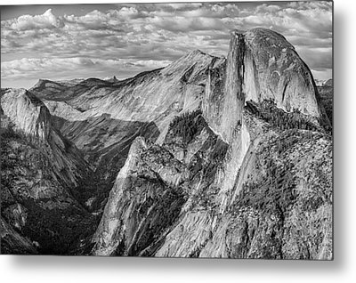 Afternoon At Half Dome Metal Print by Harry H Hicklin