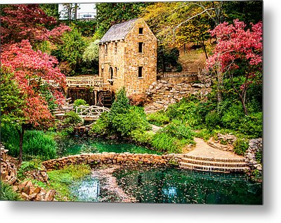 Metal Print featuring the photograph Afternoon At The Old Mill - Arkansas by Gregory Ballos