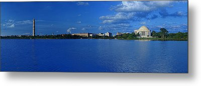 Afternoon At The Tidal Basin Metal Print by Metro DC Photography