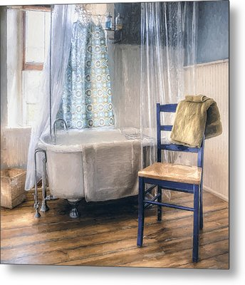 Afternoon Bath Metal Print by Scott Norris