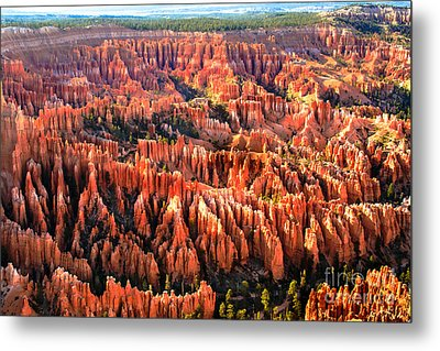 Afternoon Hoodoos Metal Print by Robert Bales