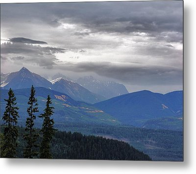 Afternoon In Yoho No. 2 Metal Print by Janet Ashworth